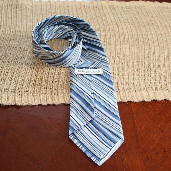 Burma Bibas Other - Beautiful Burma Bibas striped tie